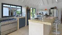 modern kitchen appliances in Saint Barth Villa Jali luxury holiday home, vacation rental