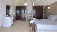 clean bedroom linens in Saint Barth Villa Jali luxury holiday home, vacation rental