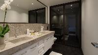 clean bathroom in Saint Barth Villa La Danse Des Etoiles luxury holiday home, vacation rental