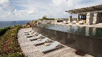 cool balcony of Saint Barth Villa La Danse Des Etoiles luxury holiday home, vacation rental