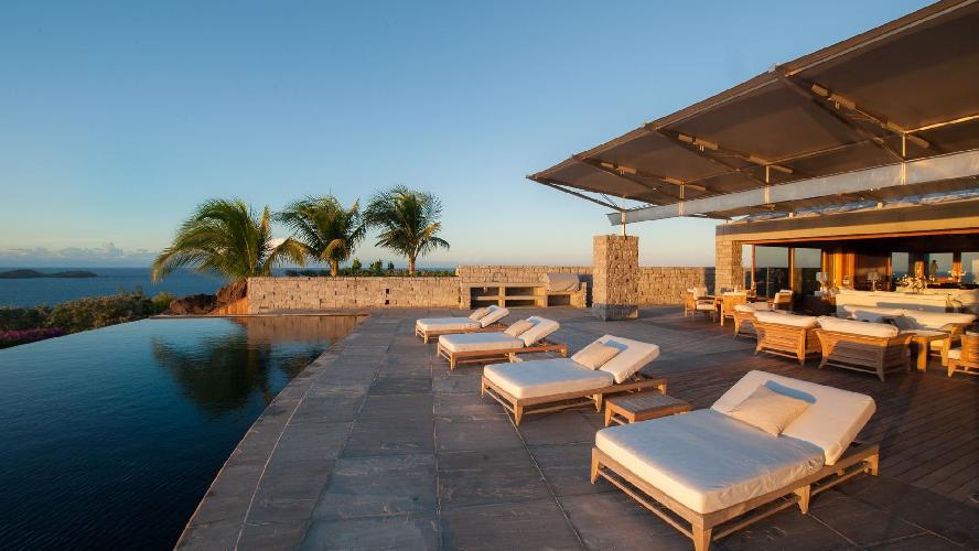 amazing Saint Barth Villa La Danse Des Etoiles luxury holiday home, vacation rental