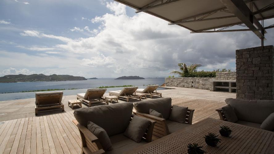 awesome Saint Barth Villa La Danse Des Etoiles luxury holiday home, vacation rental