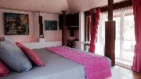 clean bedroom linens in Saint Barth Villa Lezard Palace luxury holiday home, vacation rental