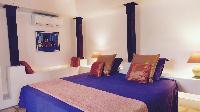 fresh bed sheets in Saint Barth Villa Lezard Palace luxury holiday home, vacation rental