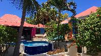 nice exterior of Saint Barth Villa Lezard Palace luxury holiday home, vacation rental
