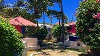 lush garden of Saint Barth Villa Lezard Palace luxury holiday home, vacation rental