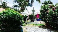 lovely garden of Saint Barth Villa Lezard Palace luxury holiday home, vacation rental