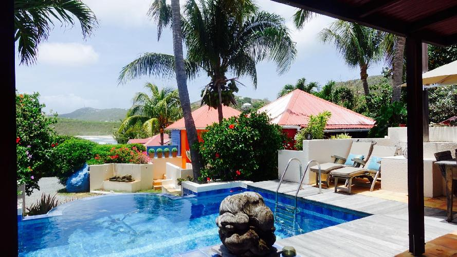 awesome Saint Barth Villa Lezard Palace luxury holiday home, vacation rental
