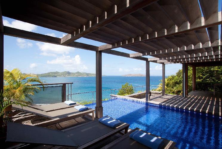beautiful Saint Barth Villa Milou Estate luxury holiday home, vacation rental