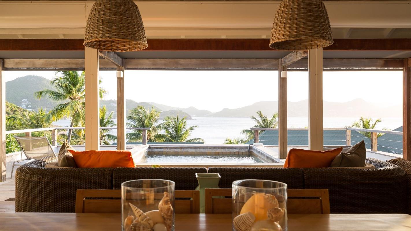 neat Saint Barth Villa Phoenix holiday home, luxury vacation rental