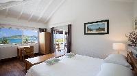 pristine bedding in Saint Barth Villa Phoenix holiday home, luxury vacation rental