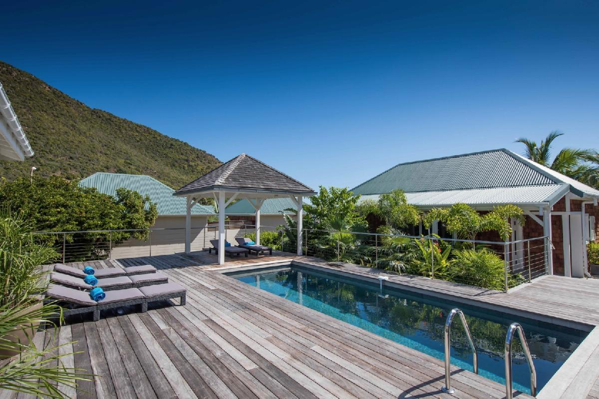 perfect Saint Barth Villa Wild Blue Estate luxury holiday home, vacation rental