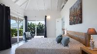 fresh bed sheets in Saint Barth Villa Wild Blue Estate luxury holiday home, vacation rental