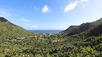 awesome sea view from Saint Barth Villa Wild Blue Estate luxury holiday home, vacation rental