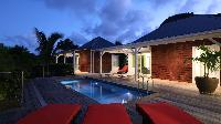 cool swimming pool of Saint Barth Villa Wild Blue Estate luxury holiday home, vacation rental
