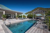 amazing pool of Saint Barth Villa Wild Blue Estate luxury holiday home, vacation rental