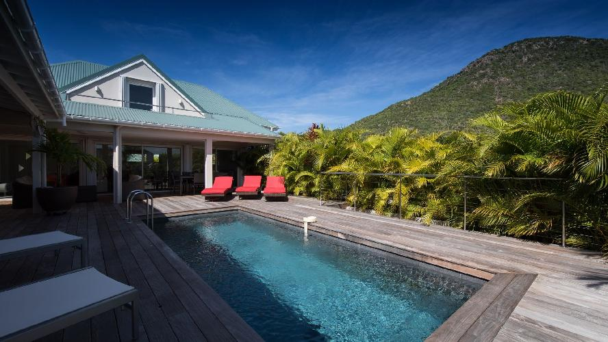 incredible Saint Barth Villa Wild Blue Estate luxury holiday home, vacation rental