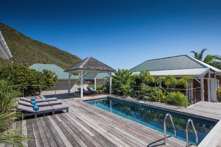 perfect Saint Barth Villa Wild Blue Estate luxury holiday home, vacation rental