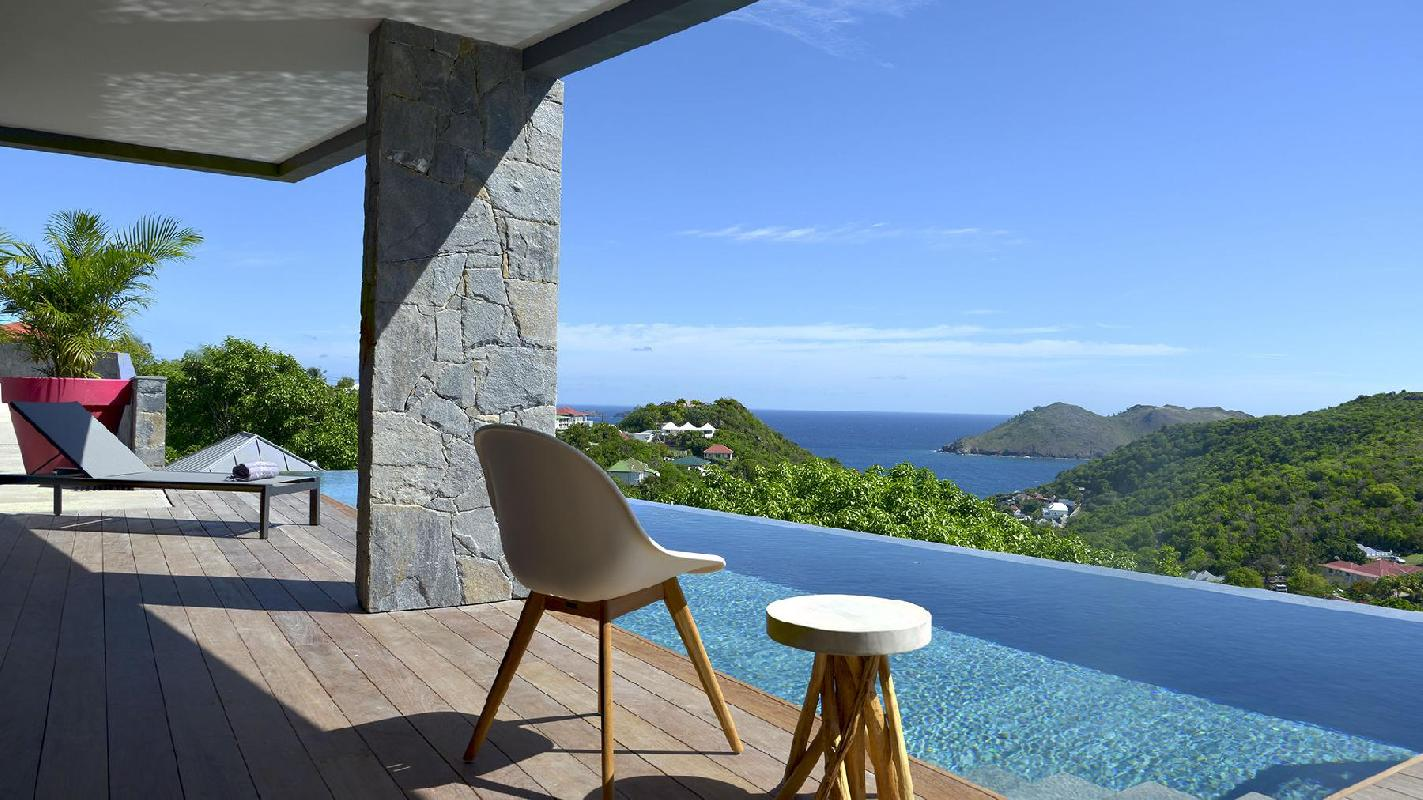 beautiful Saint Barth Luxury Villa Alpaka Caribbean Sea holiday home, vacation rental