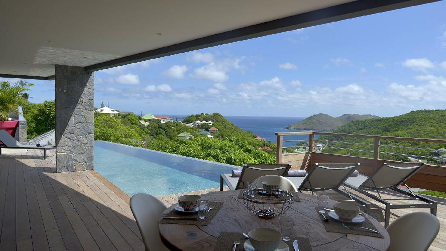 magnificent Saint Barth Luxury Villa Alpaka Caribbean Sea holiday home, vacation rental