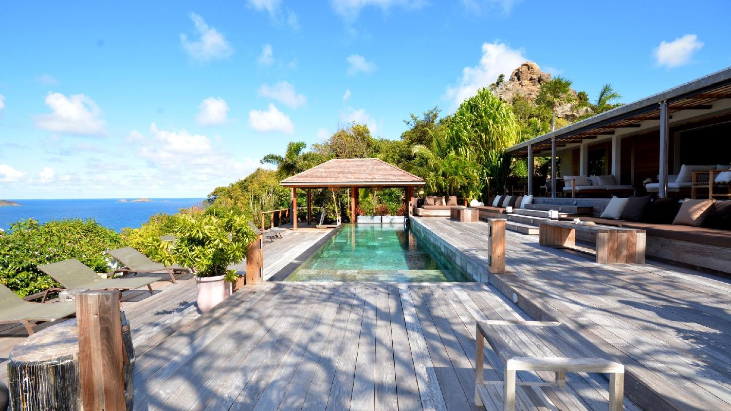wonderful Saint Barth Luxury Villa Amancaya Caribbean Sea holiday home, vacation rental