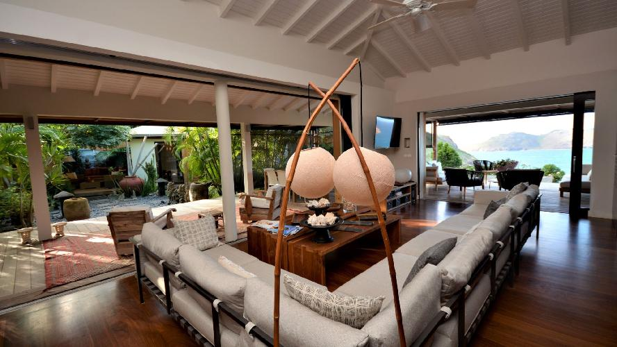 fascinating Saint Barth Luxury Villa Amancaya Caribbean Sea holiday home, vacation rental