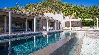 cool swimming pool of Saint Barth Villa Casawapa luxury holiday home, vacation rental