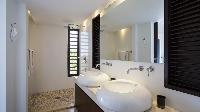spic-and-span bathroom in Saint Barth Villa Casawapa luxury holiday home, vacation rental