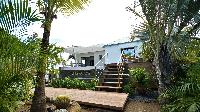 lush garden of Saint Barth Villa Cosy Amancaya luxury holiday home, vacation rental