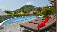 amazing swimming pool of Saint Barth Luxury Villa Evan holiday home, vacation rental
