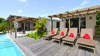 awesome swimming pool of Saint Barth Luxury Villa Evan holiday home, vacation rental