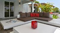 cool lanai of Saint Barth Luxury Villa Evan holiday home, vacation rental