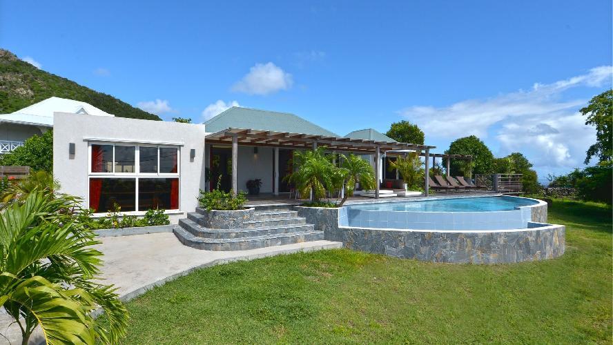 beautiful Saint Barth Luxury Villa Evan holiday home, vacation rental