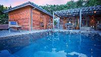 cool pool of Saint Barth Villa Ti Lama luxury holiday home, vacation rental