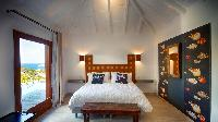 clean bed sheets in Saint Barth Villa Ti Lama luxury holiday home, vacation rental