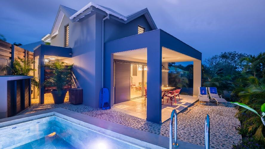 cool swimming pool of Saint Barth Luxury Villa Fourchue holiday home, vacation rental