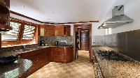 modern kitchen appliances in Saint Barth Villa Indian Song luxury holiday home, vacation rental