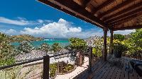 cool terrace of Saint Barth Villa Indian Song luxury holiday home, vacation rental