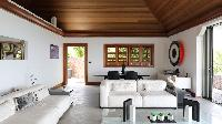 incredible sitting area in Saint Barth Villa Indian Song luxury holiday home, vacation rental