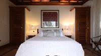 clean bedroom linens in Saint Barth Villa Indian Song luxury holiday home, vacation rental