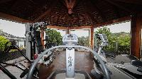 nice gym in Saint Barth Villa Indian Song luxury holiday home, vacation rental
