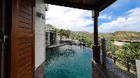 cool infinity pool of Saint Barth Villa Indian Song luxury holiday home, vacation rental