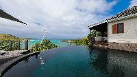 incredible exterior of Saint Barth Villa Indian Song luxury holiday home, vacation rental