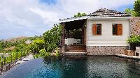 cool pool of Saint Barth Villa Indian Song luxury holiday home, vacation rental