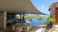 incredible infinity pool of Saint Barth Villa Indian Song luxury holiday home, vacation rental