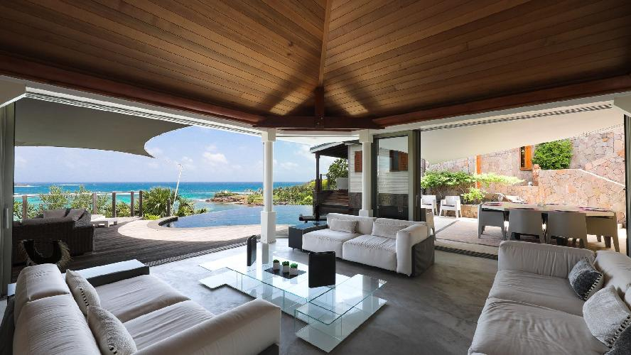 awesome Saint Barth Villa Indian Song luxury holiday home, vacation rental