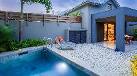 cool swimming pool of Saint Barth Villa Nevis luxury holiday home, vacation rental