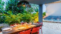 cool garden of Saint Barth Villa Nevis luxury holiday home, vacation rental