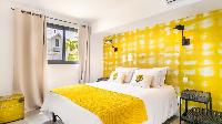 clean bed sheets in Saint Barth Villa Nevis luxury holiday home, vacation rental
