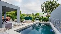 cool swimming pool of Saint Barth Villa Saba luxury holiday home, vacation rental